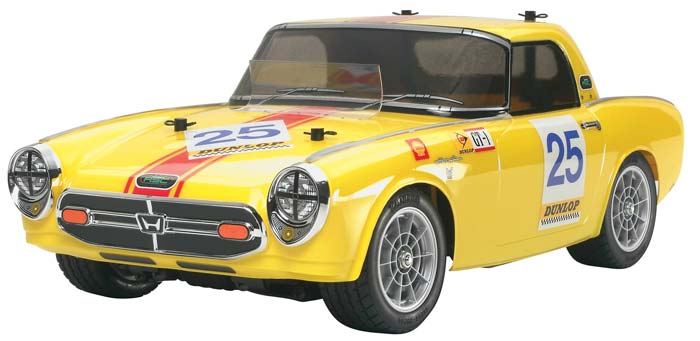 tamiya 58454 1 10 honda s800 racing m 05 chassis kit samirc. Black Bedroom Furniture Sets. Home Design Ideas