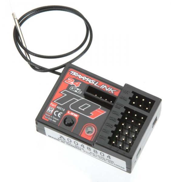 traxxas 6518 tqi 5 channel receiver samirc