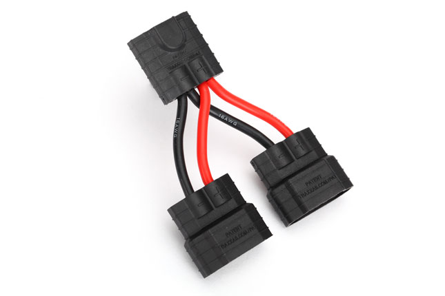 Traxxas 3064x Wire Harness Paralell Battery Connection  Id