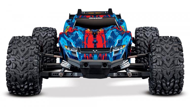 RUSTLER 4X4 110 BRUSHLESS 4WD TQI TSM RTR TRAXXAS