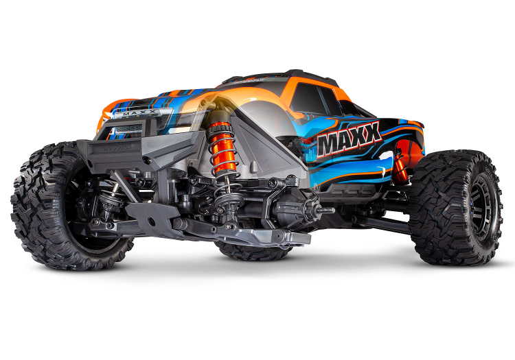 Traxxas 89076 Maxx 4x4 110 RTR TQi Brushless TSM Orange